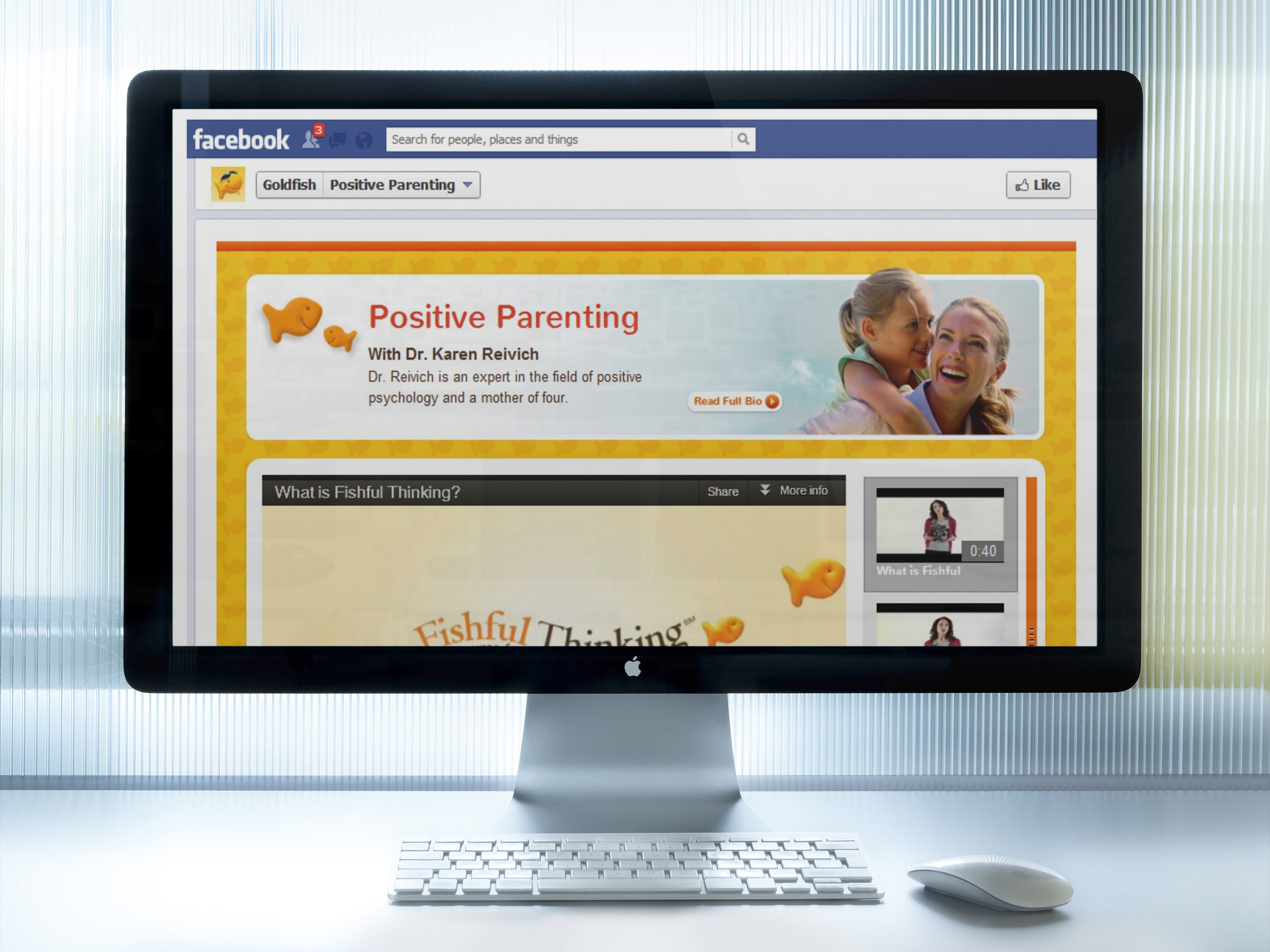 Pepperidge Farm: Goldfish Positive Parenting